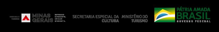 Patrocinado pelo Governo de Minas Gerais e Governo Federal